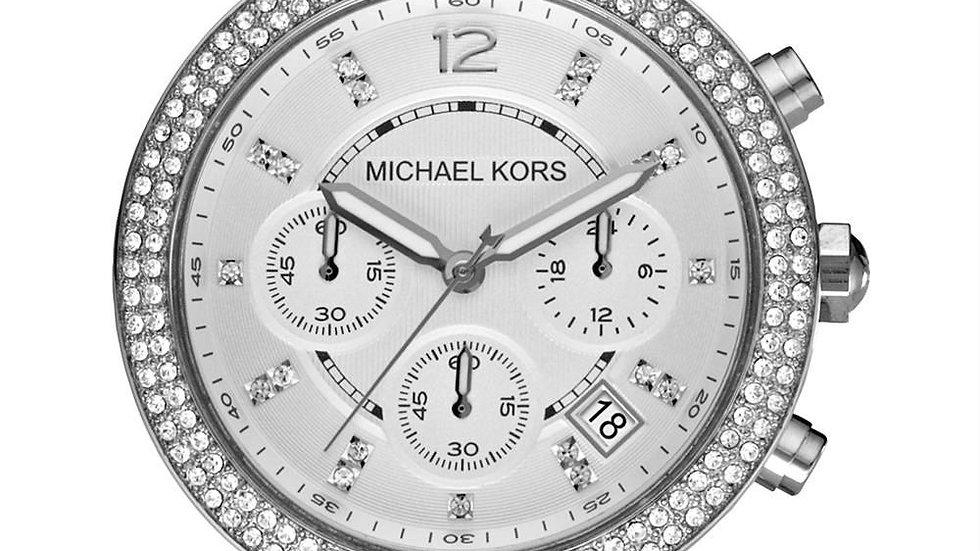 Michael Kors Over size Parker Triple Chrono