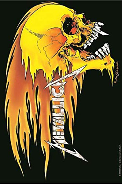 Metallica Wall Flag