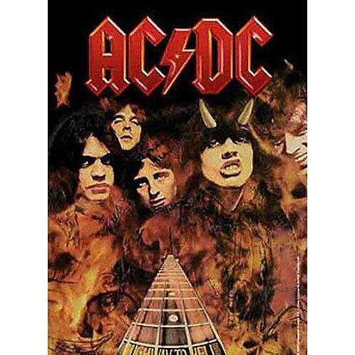 AC/DC Wall Flag