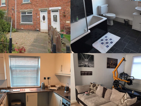 CASE STUDY: 2 BED BUY-TO-LET, North East