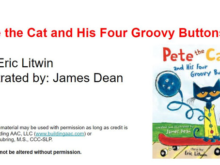 Pete the Cat and His Four Groovy Buttons - Take 2