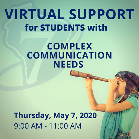 Virtual Supports for AAC