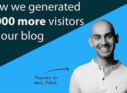 How Neil Patel got our online readership to jump 50-fold