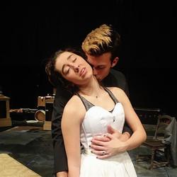 More rehearsal shots from Anna Karenina at Baylor - creating beautiful and dynamic intimacy safely o