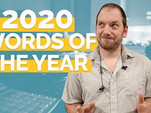 Cathy and Toby's 2020 Words of the Year