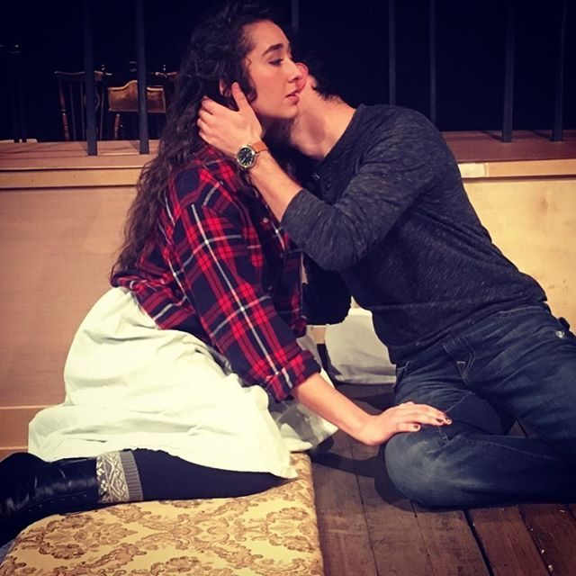 #rehearsals for #annakarenina creating dynamic art onstage safely #storytelling #intimacy #intimacyd