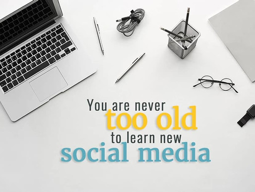 I'm too old for social media (and two ways to overcome your ageist paralysis)