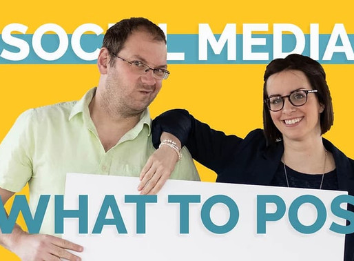 Social Media For Business: What to Post