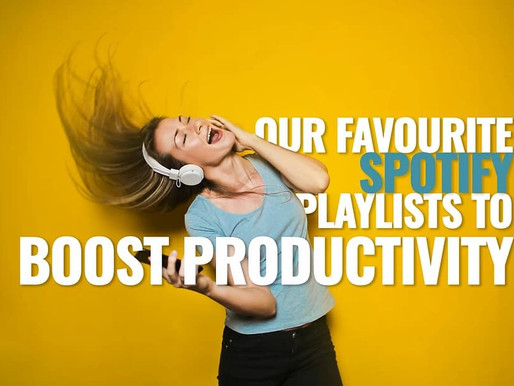 Playlists for Productivity: Our Top Spotify lists to Get the Work Done