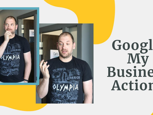 Google My Business Actions