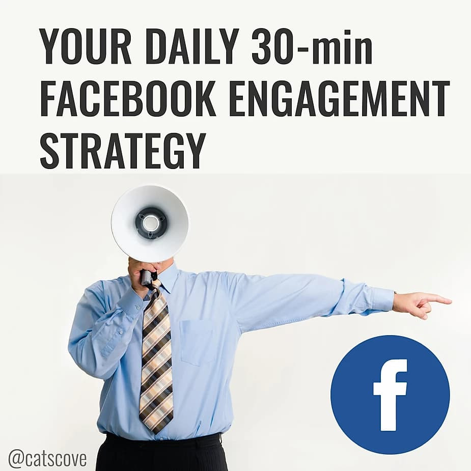 Cat's Cove's 30 Minute Facebook Engagement Strategy for Businesses