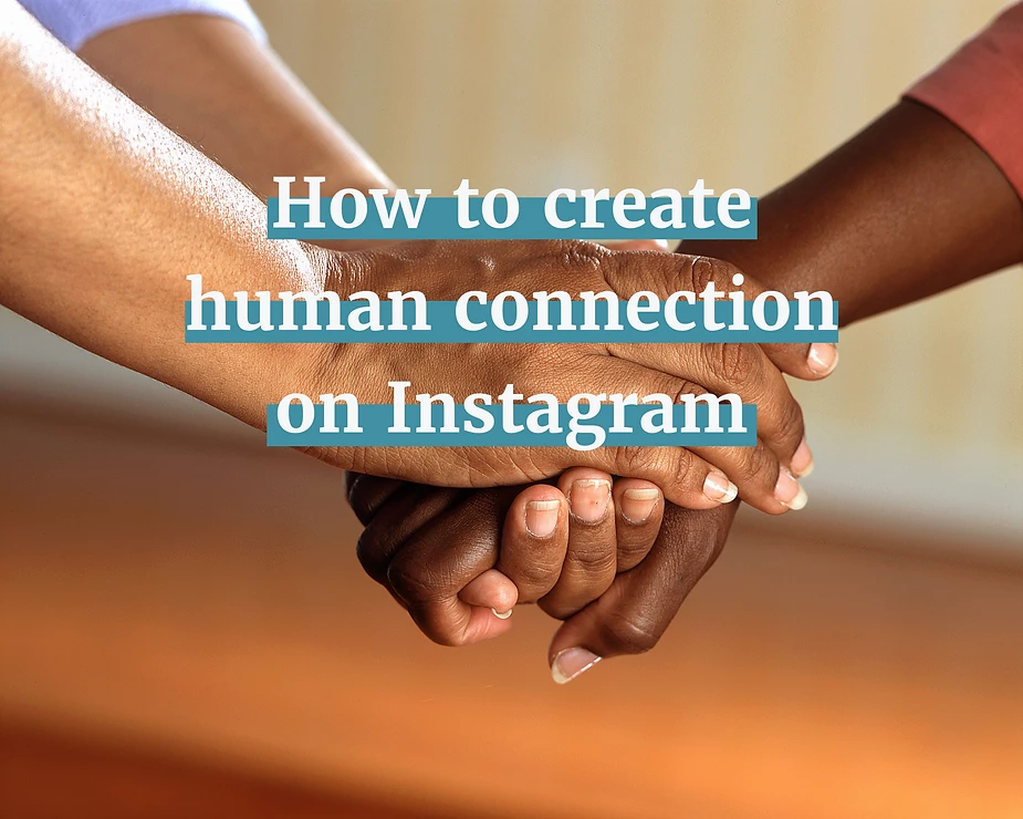 Create a genuine connection with your online community through direct messaging on social media.