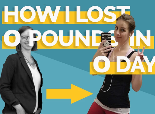How I Learned to Drop 40lbs for a Photo Shoot
