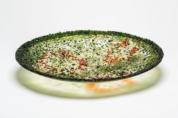 Speckled Green - Bowl - 32cm