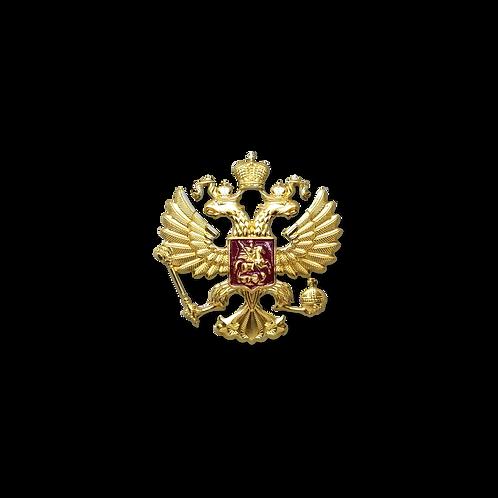 """Накладка """"Герб РФ"""" 35 mm"""