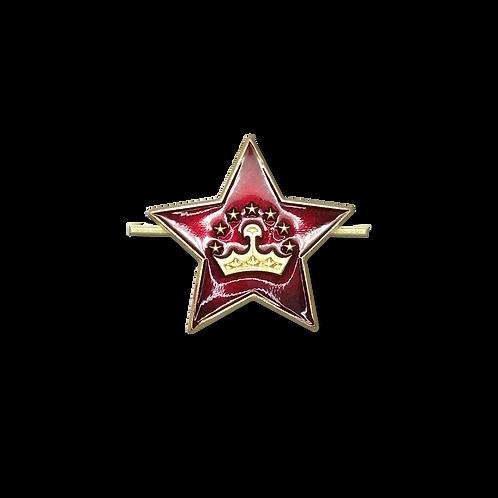 "Кокарда звезда  ""Таджикистан"""