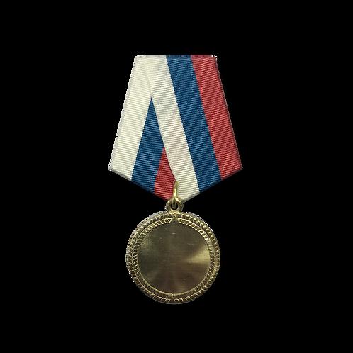 "Медаль ""ВЕНОК"" под вставку 25 мм."