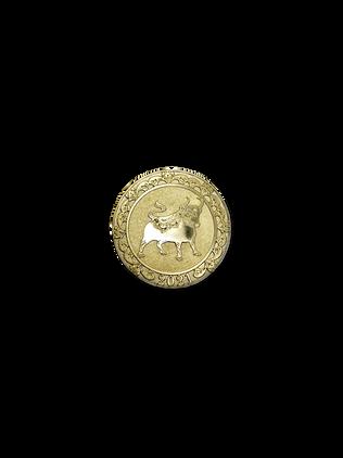 Монета Год Быка 2021