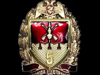 Нагрудный знак 5 полк ОДОН имени  Ф. Э. Дзержинского