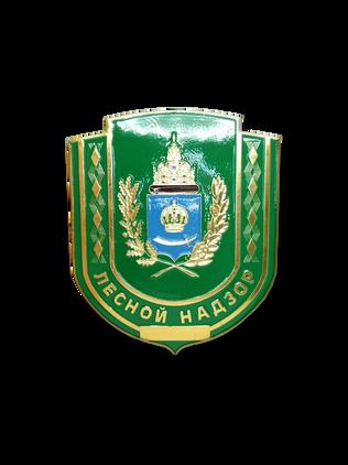 Нагрудный знак Лесной Надзор Астраханской области