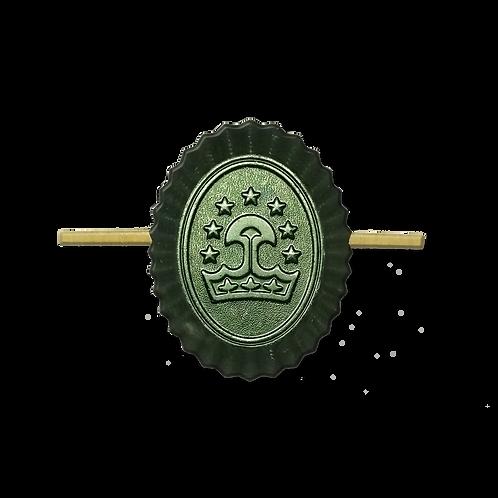 "Кокарда ""Таджикистан"" малая защитная"