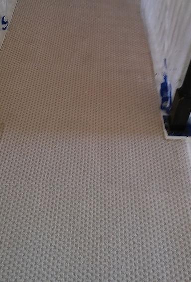 carpet repair after repairing