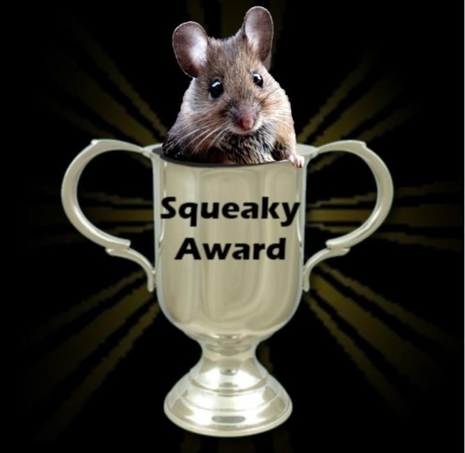 Squeak, Squeak, Squeak!