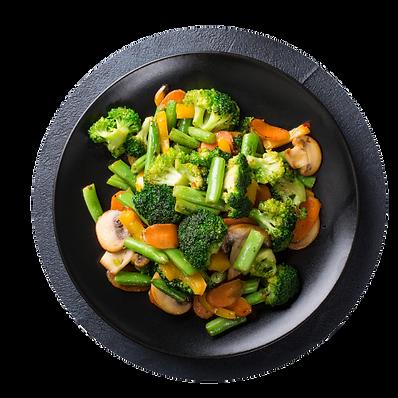 Stir fry vegetable Ingredients