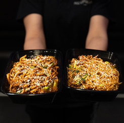 Shanghai and Chow mein Noodles