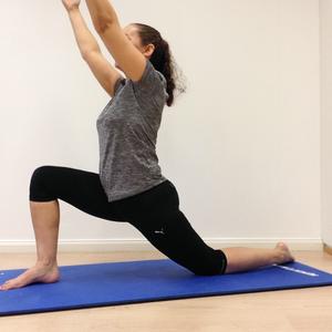 over stretching your hip flexor