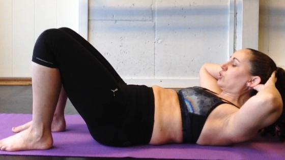 Bad crunches for diastasis recti