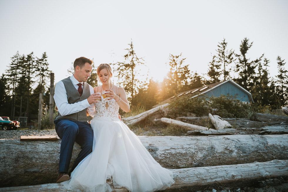 Vancouver Island Wedding Photographe