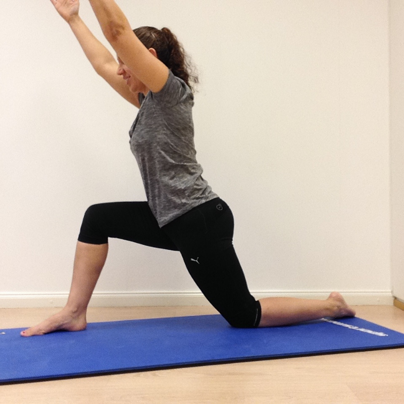 Stable low lunge