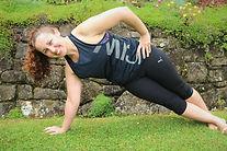 Diastasis Fitness side plank