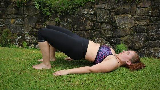 Diastasis Fitness Glute Bridges