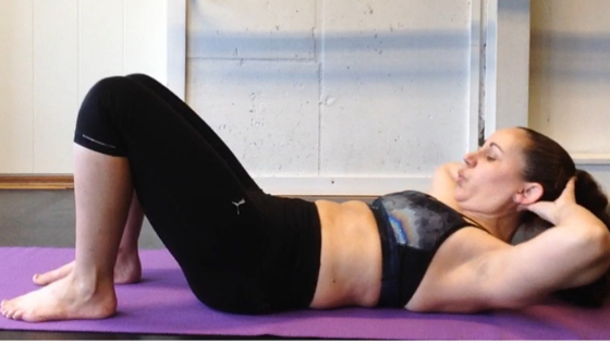 Good pressure management, crunches with diastasis recti