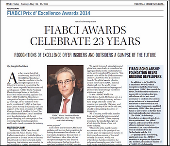 FIABC Prix d'Excellence international