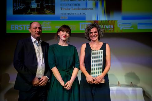 Gewinner der Kategorie Spezialimmobilien: Sammlungs- und Forschungs-zentrum der Tiroler Landesmuseen