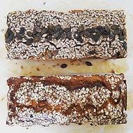 Früchte-Nuss-Brot & Kokos-Goji-Banana-Bread