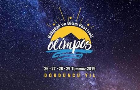 Olimpos Gökyüzü ve Bilim Festivalinin bu yıl 4.üncüsü yapılıyor.