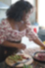Rejoins-moi dans ma cuisine ou dans mon atelier nous parlerons cuisine art nous cuisinerons et degusterons des plats délicieux