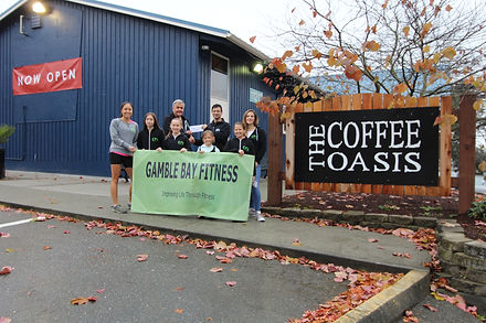 Donation to Coffe Oasis.JPG