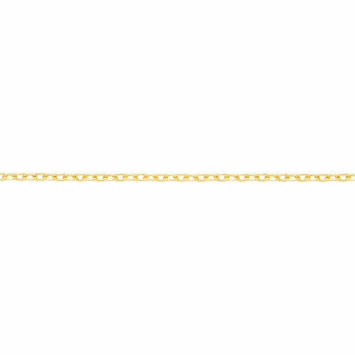Cordão Rommanel folheado a ouro fio cadeado - tam.45 5309604500