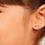 Thumbnail: Brinco Rommanel abc folheado a ouro com aplicação de resina-colorido - 52641700