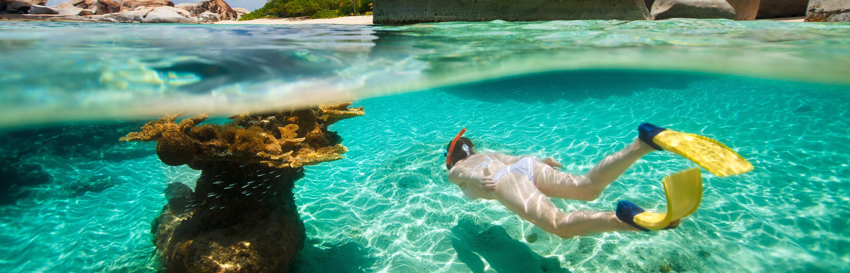 Snorkeling at The Baths