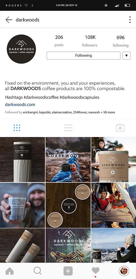 darkwoods instagram