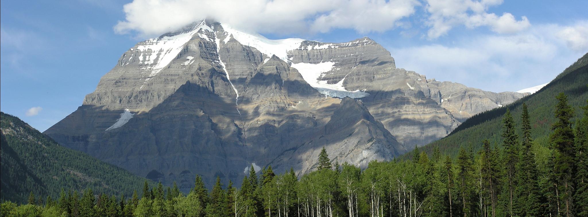 HIGHEST PEAK IN CANADIAN ROCKIES