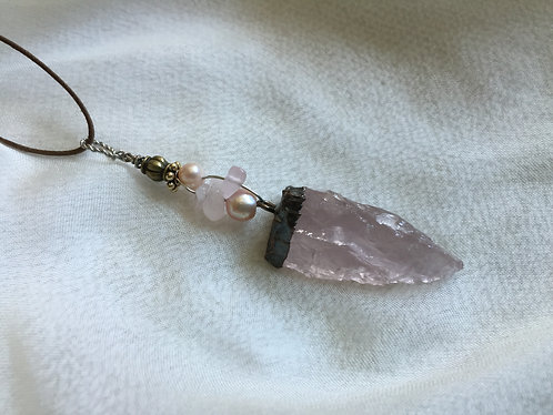 Rose Quaartz, Pearl / sold