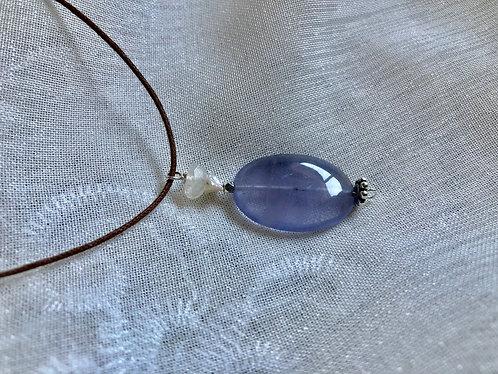 Amethyst, Moonstone / sold