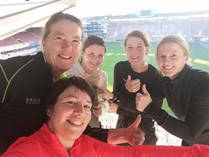 Trappen in voetbalstadion Waregem